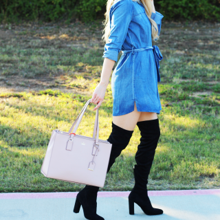 How to Style: Over the Knee Boots
