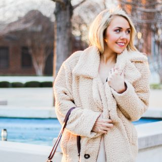 Teddy Coat + Discussing Sponsored Posts